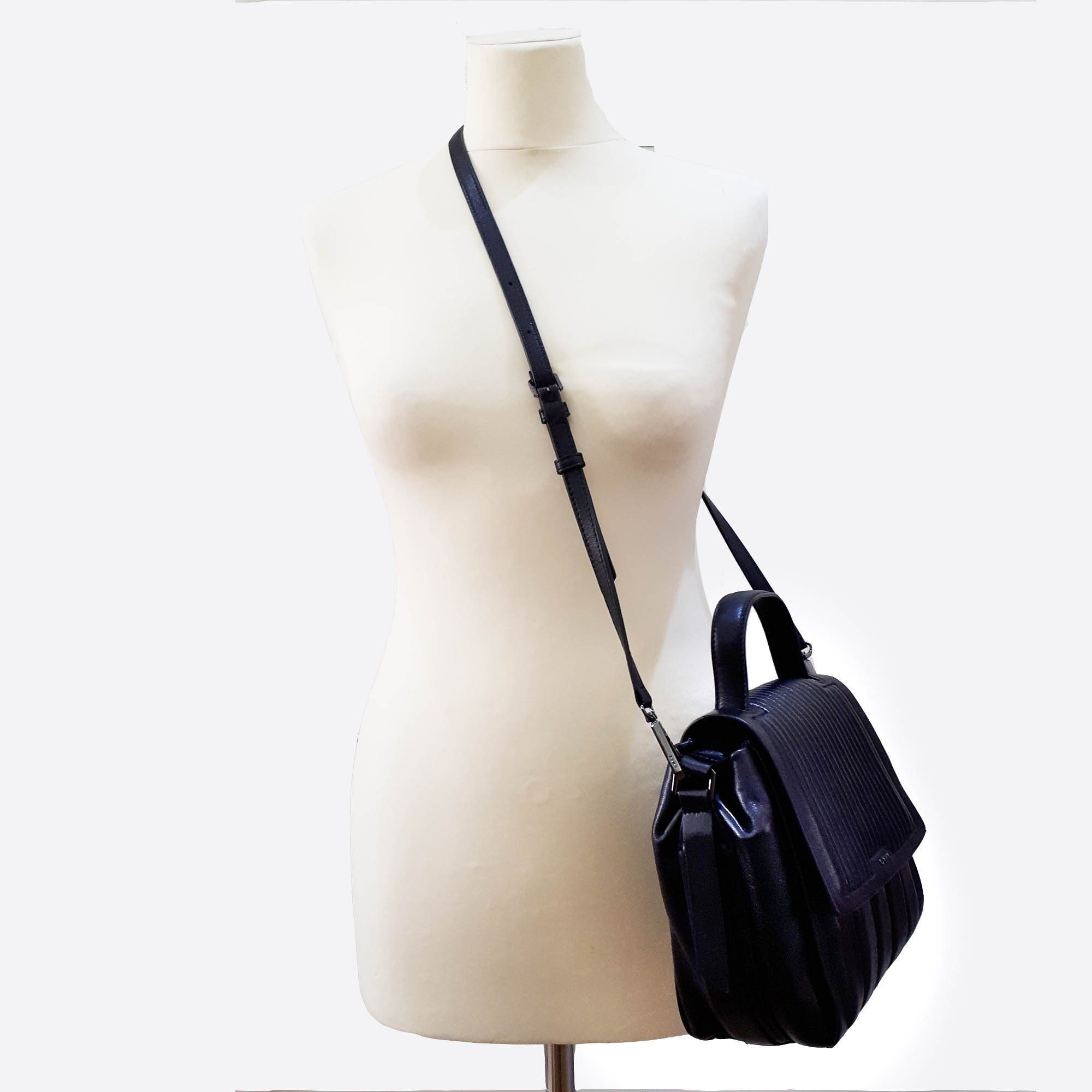 DKNY Black Top Handle Bag