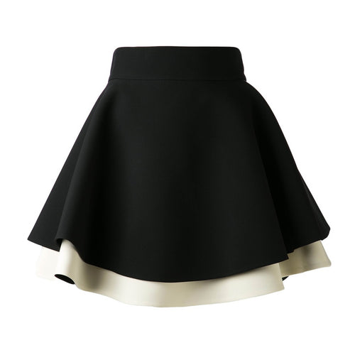 Fausto Puglisi Flared Layered Umbrella Skirt