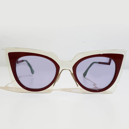 Fendi Orchid Cat Eye Sunglasses