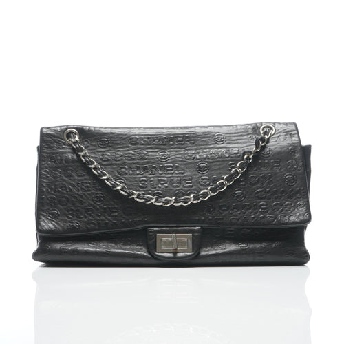 b7f3580f41f4 Sale. Chanel Black Leather Rue Cambon Double Flap Shoulder bag ...