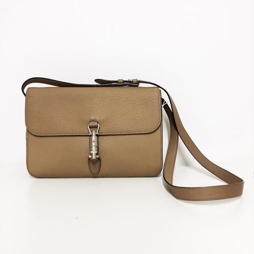 Gucci Tan Crossbody Bullet Bag