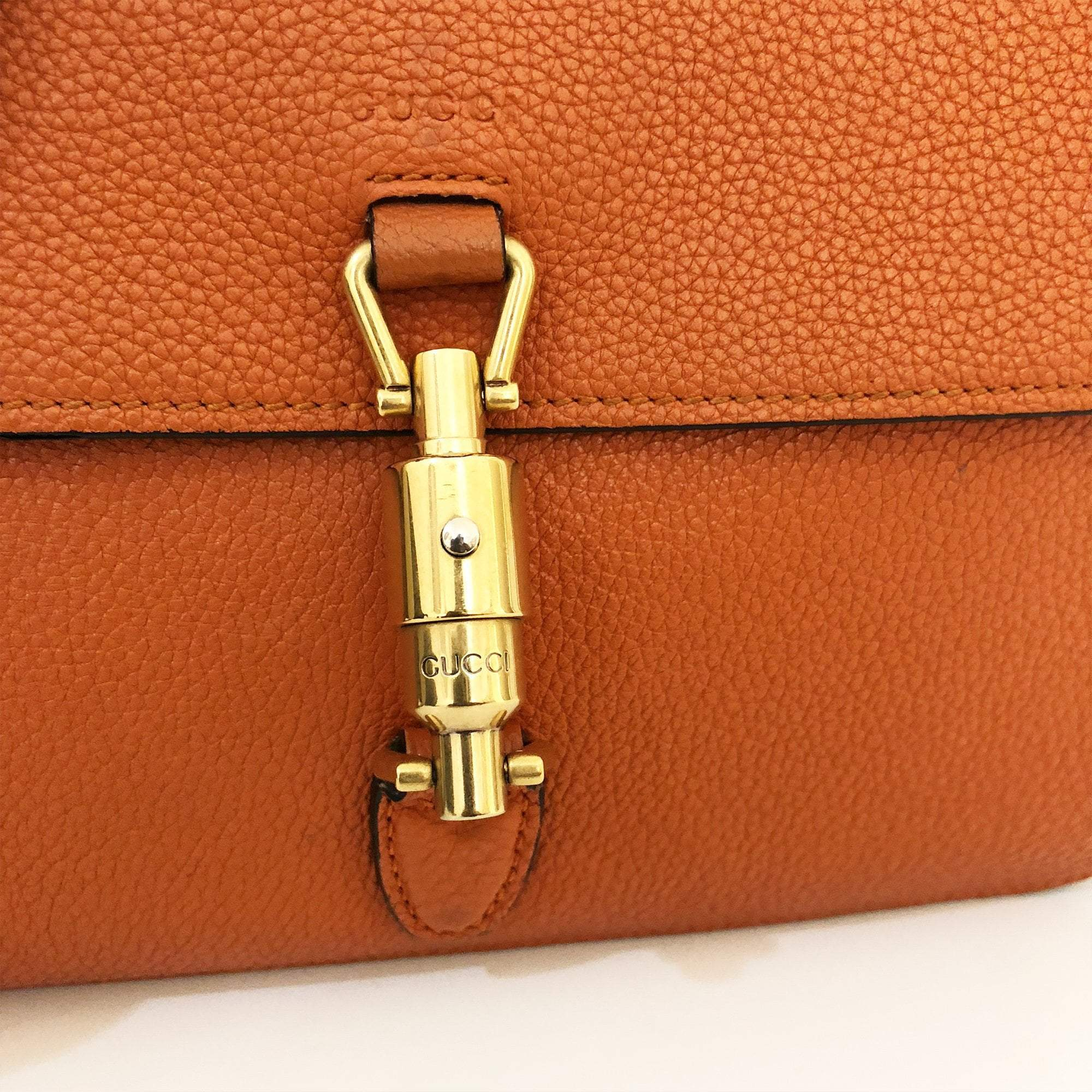 Gucci Orange Crossbody Bullet Bag