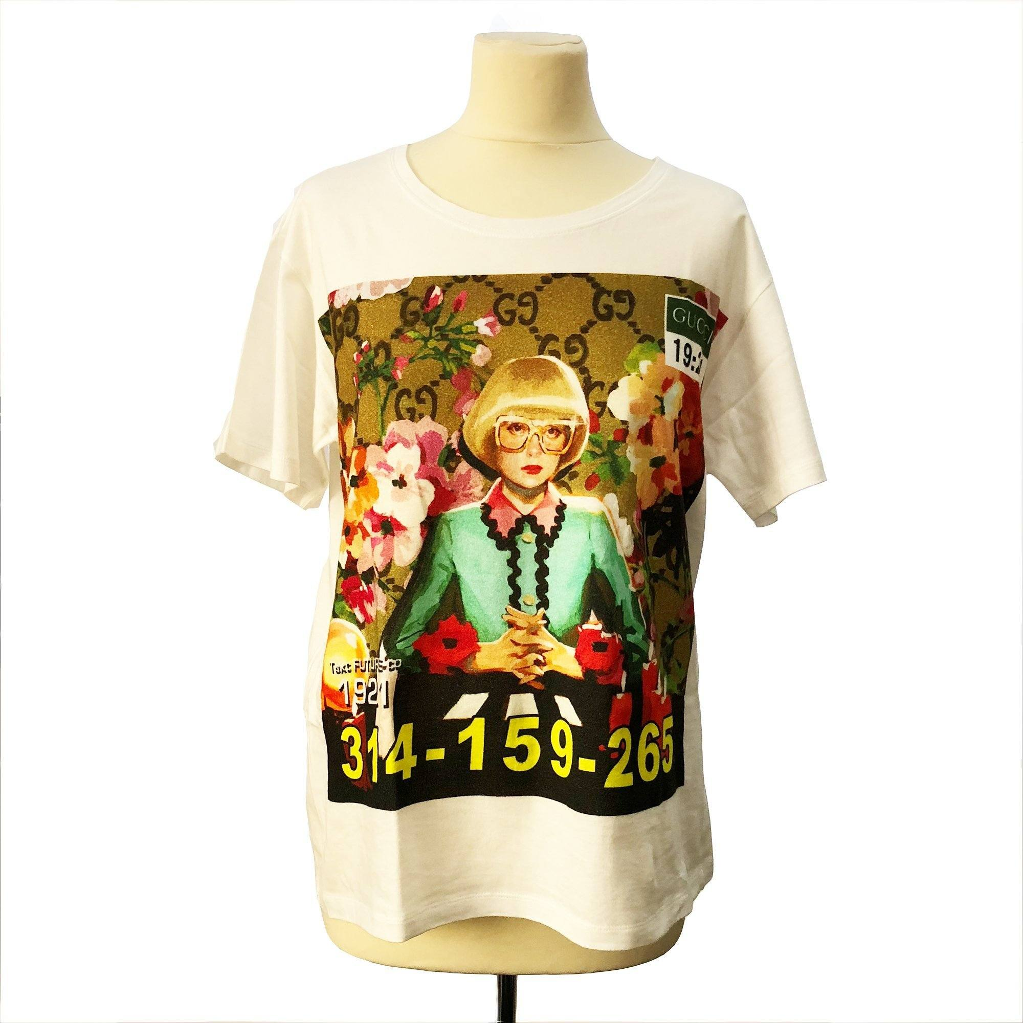 Gucci 1921 Printed Cotton T-shirt