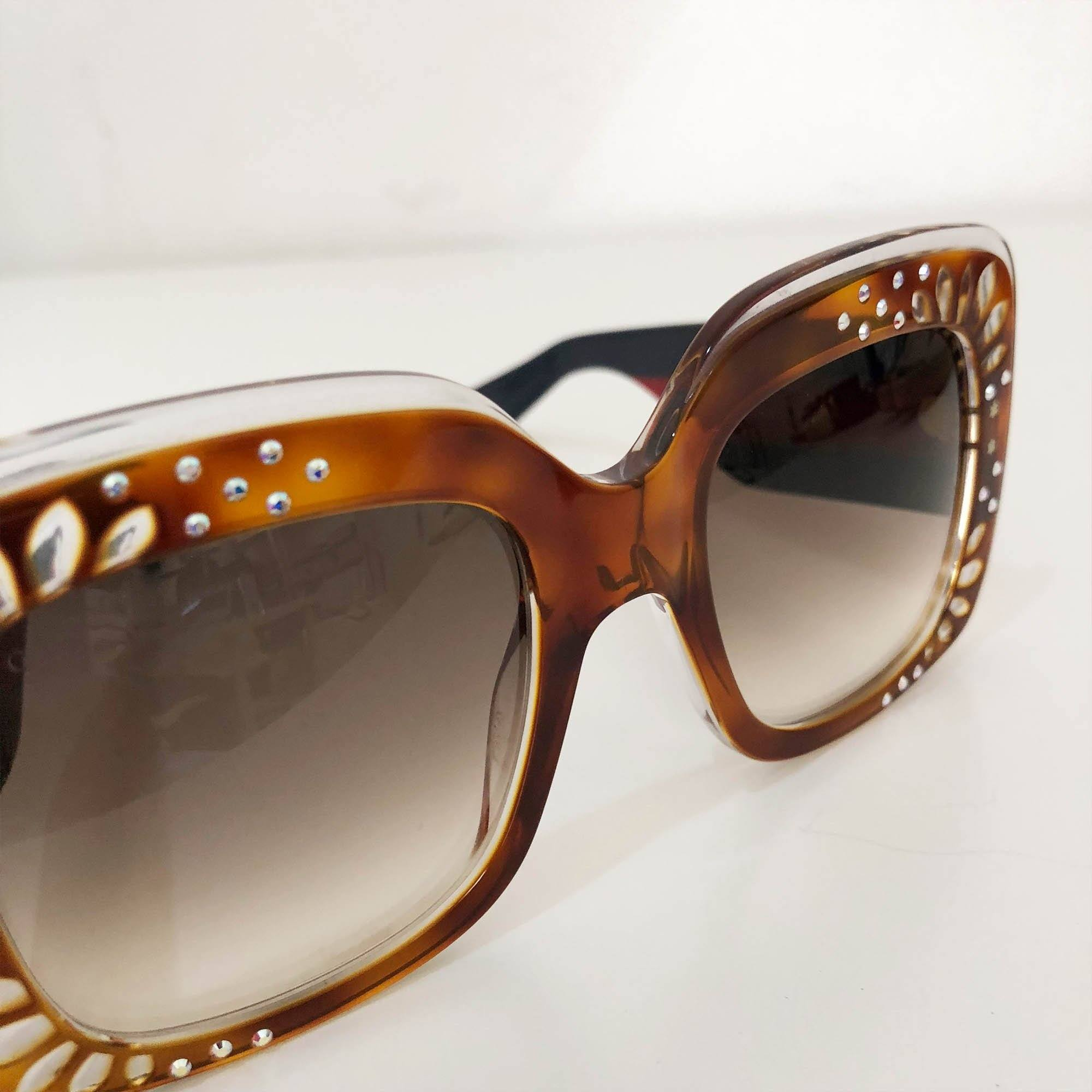 Gucci Square Oversized Sunglasses