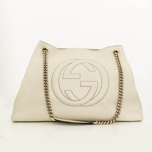 Gucci Soho Leather Tote Bag