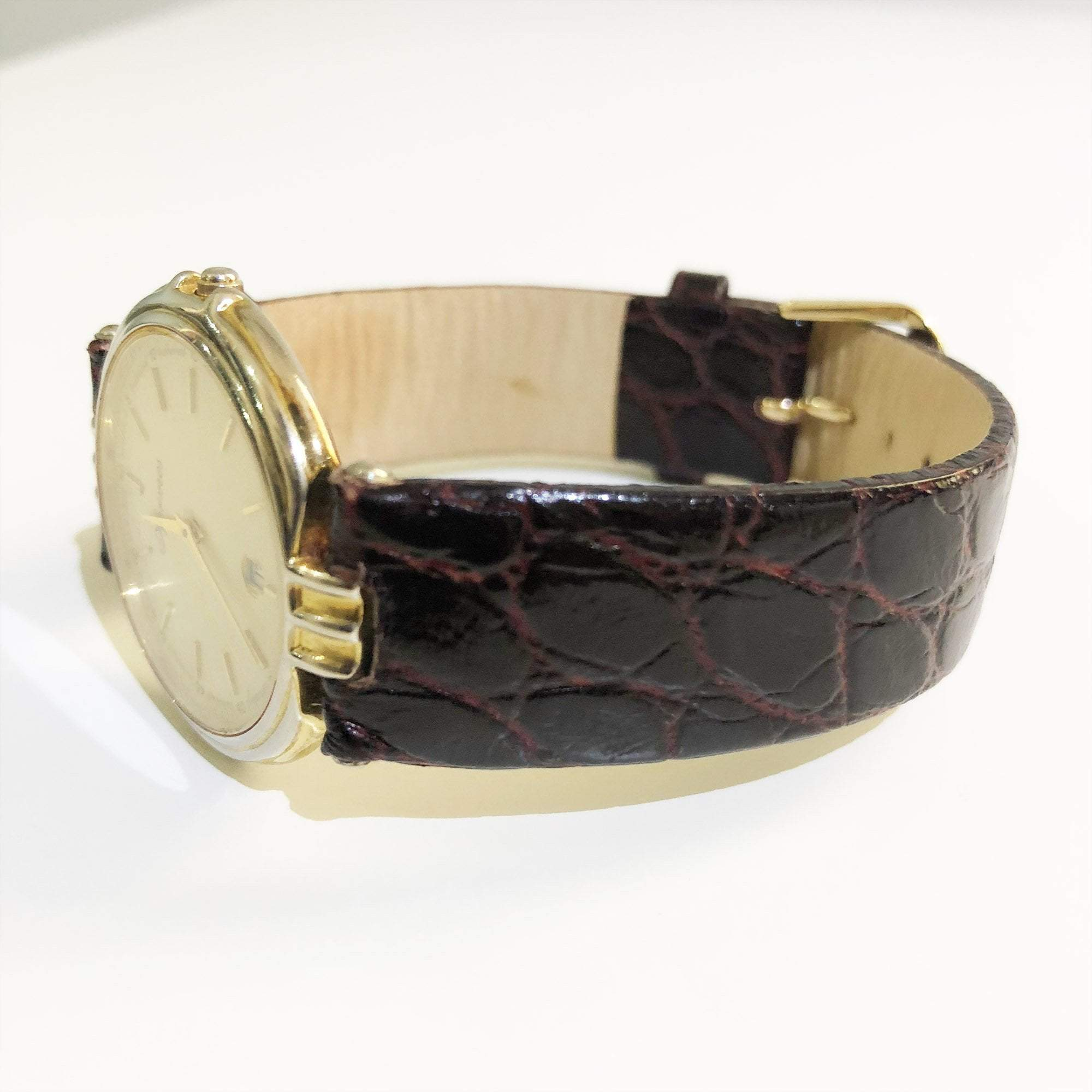 Hermes Watch Crocodile Strap