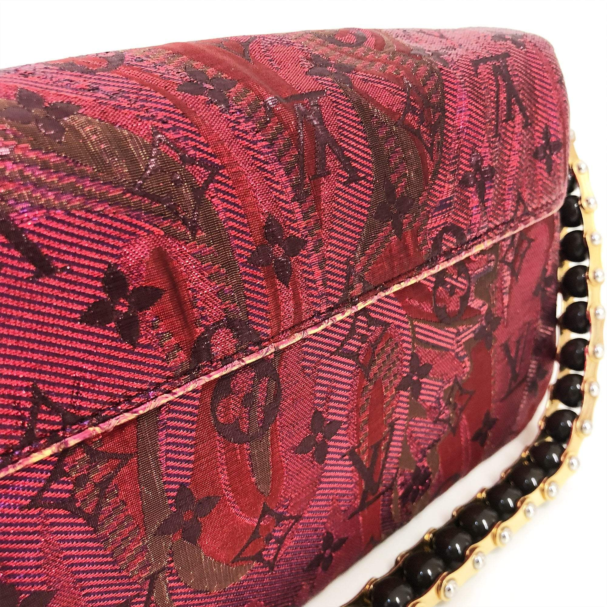 Louis Vuitton Multicolor Monogram Limited Edition Brocade Calliope Bag