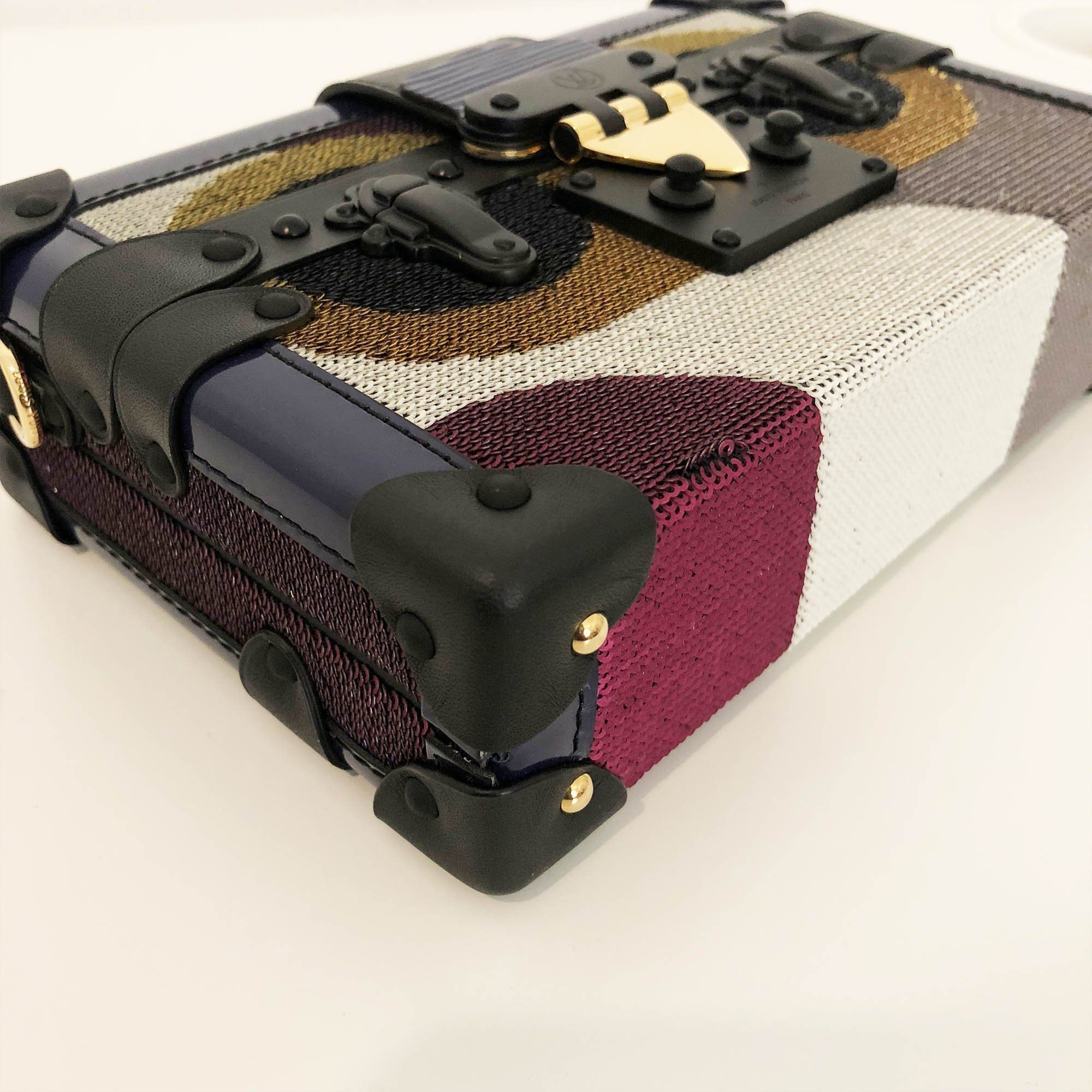 Louis Vuitton Petite Malle Night Bird Bag