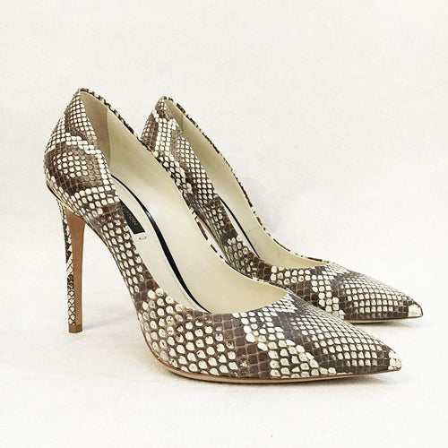 Louis Vuitton Eyeline Python Pumps