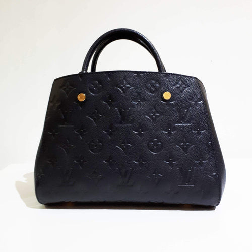 Louis Vuitton Montaigne PM Monogram Empreinte Leather Bag