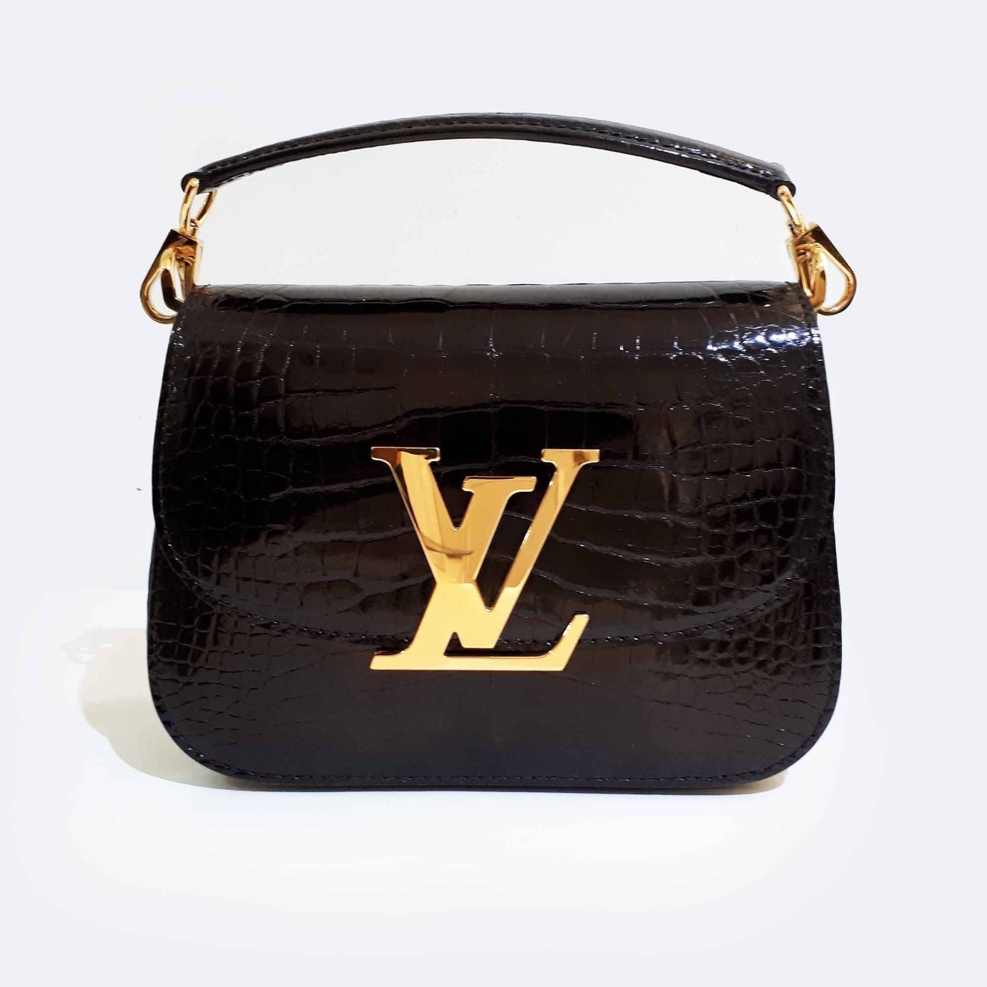 24ecaed813b2 Louis Vuitton Vivienne Alligator Crossbody Bag – Garderobe