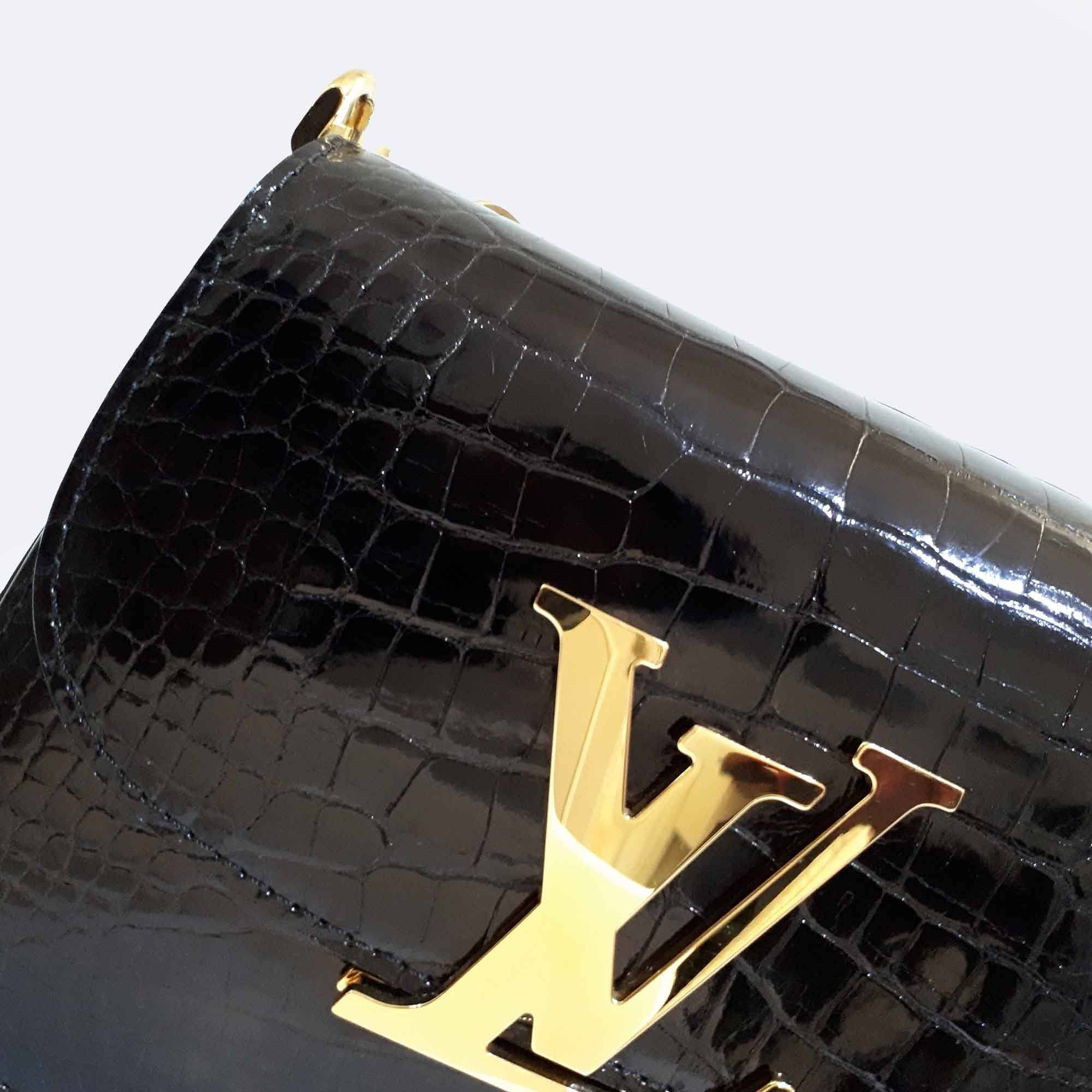 Louis Vuitton Vivienne Alligator Crossbody Bag