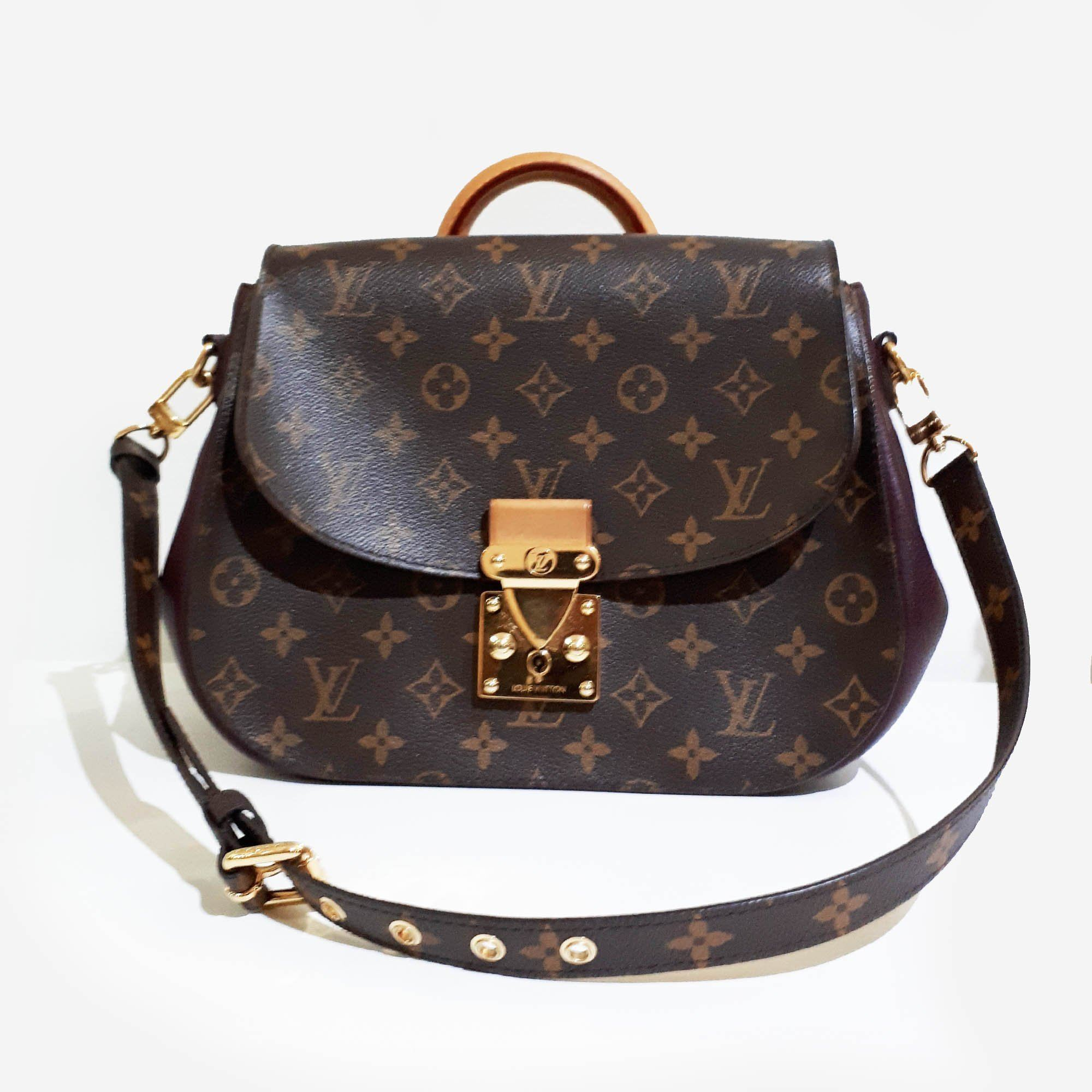 Louis Vuitton Aurore Monogram Canvas Eden MM Bag