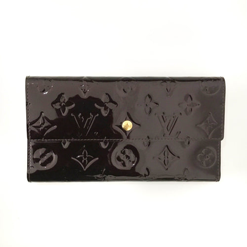 Louis Vuitton Burgundy Flap Wallet