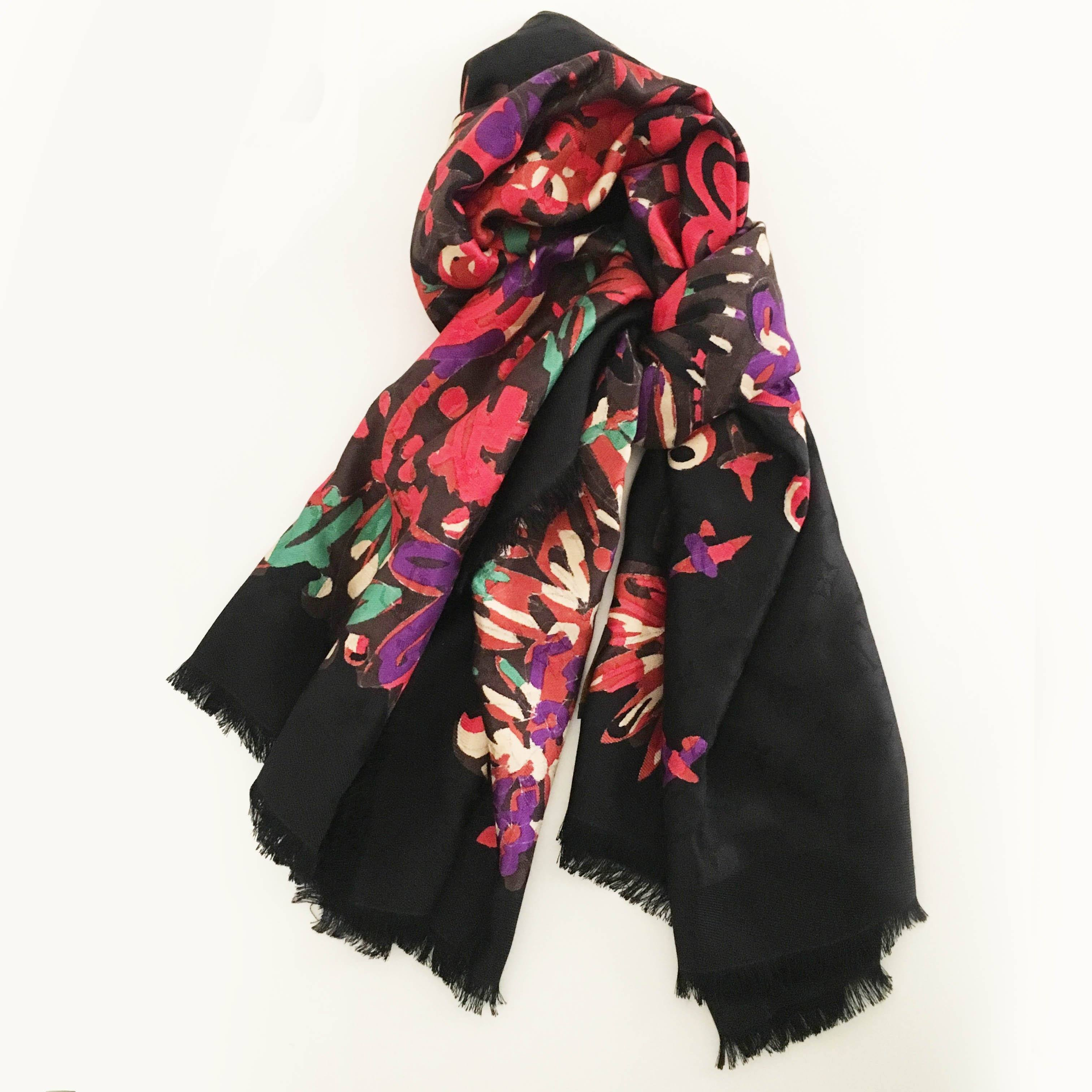Louis Vuitton Multicolored Print Scarf