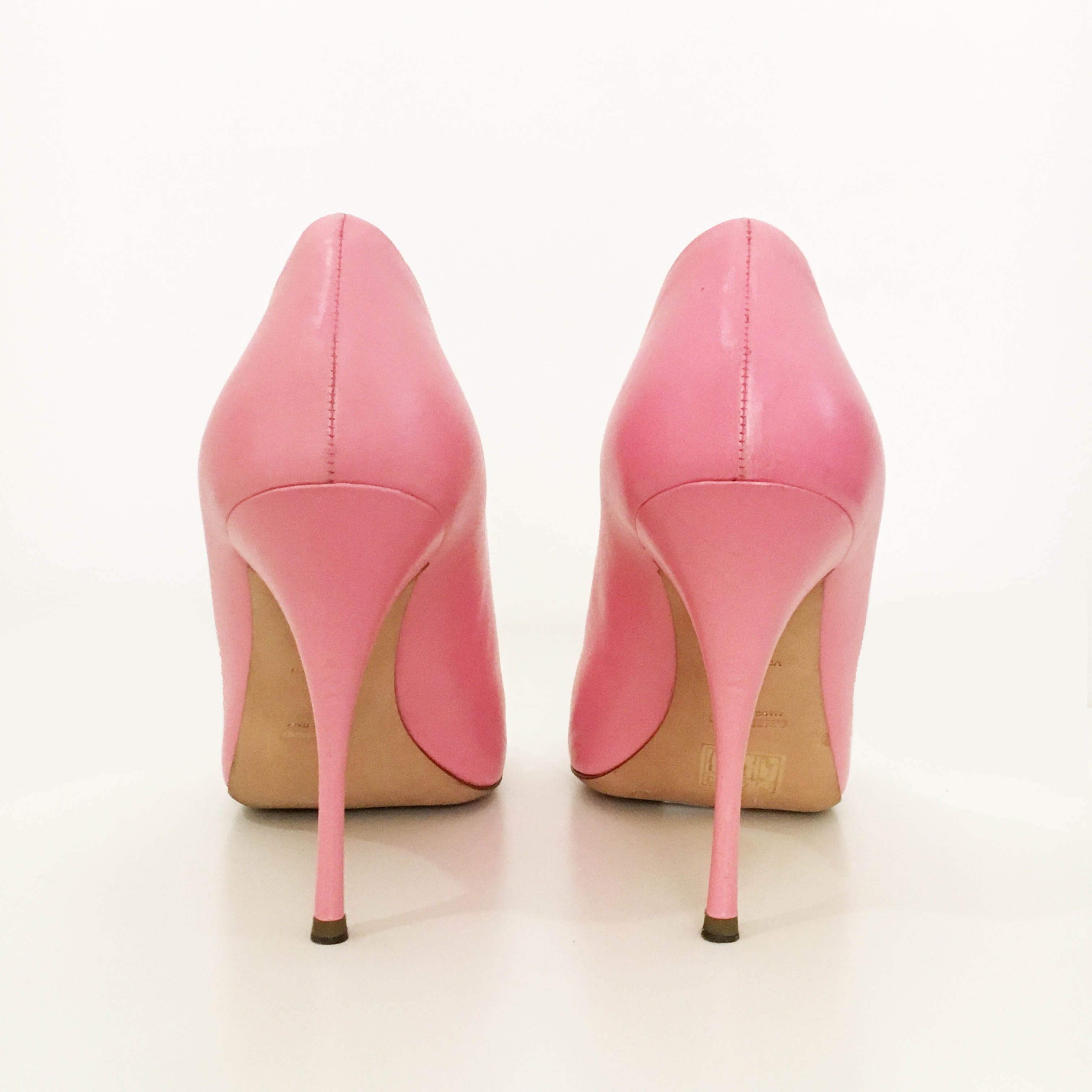 Miu Miu Peep Toe Pumps