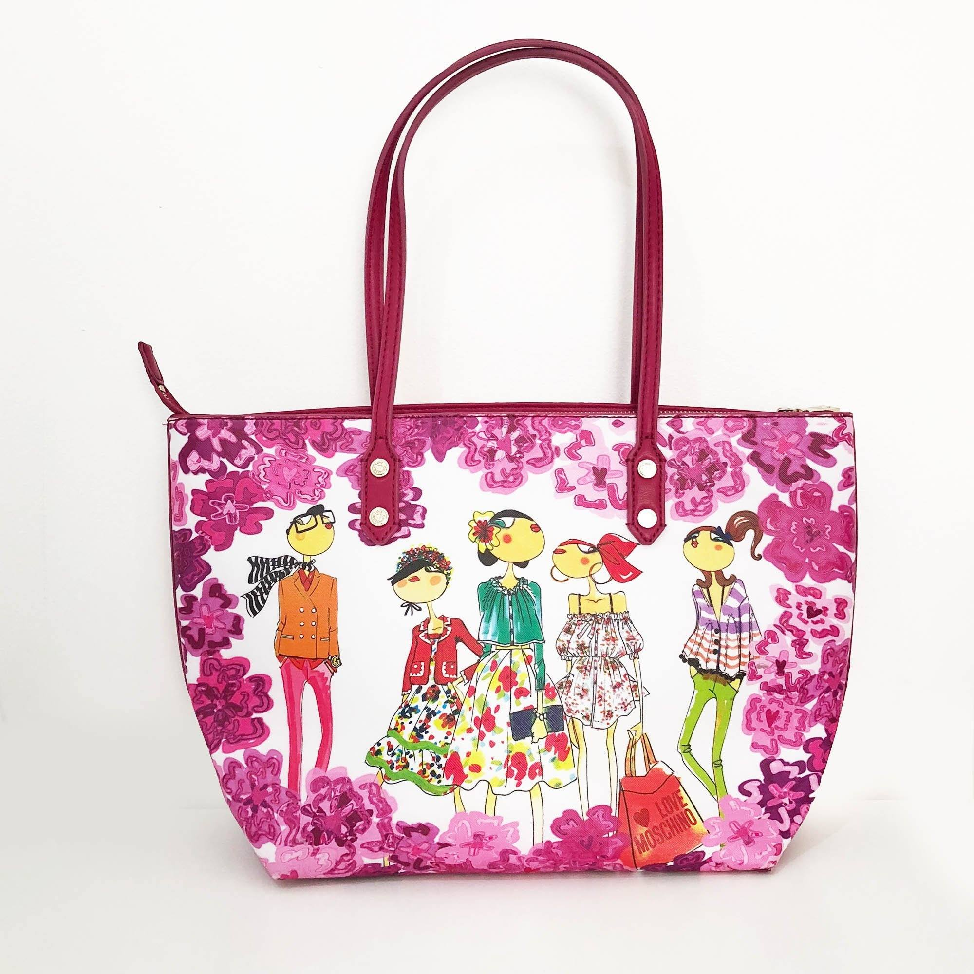 Love Moschino Printed Tote Bag SS 2013