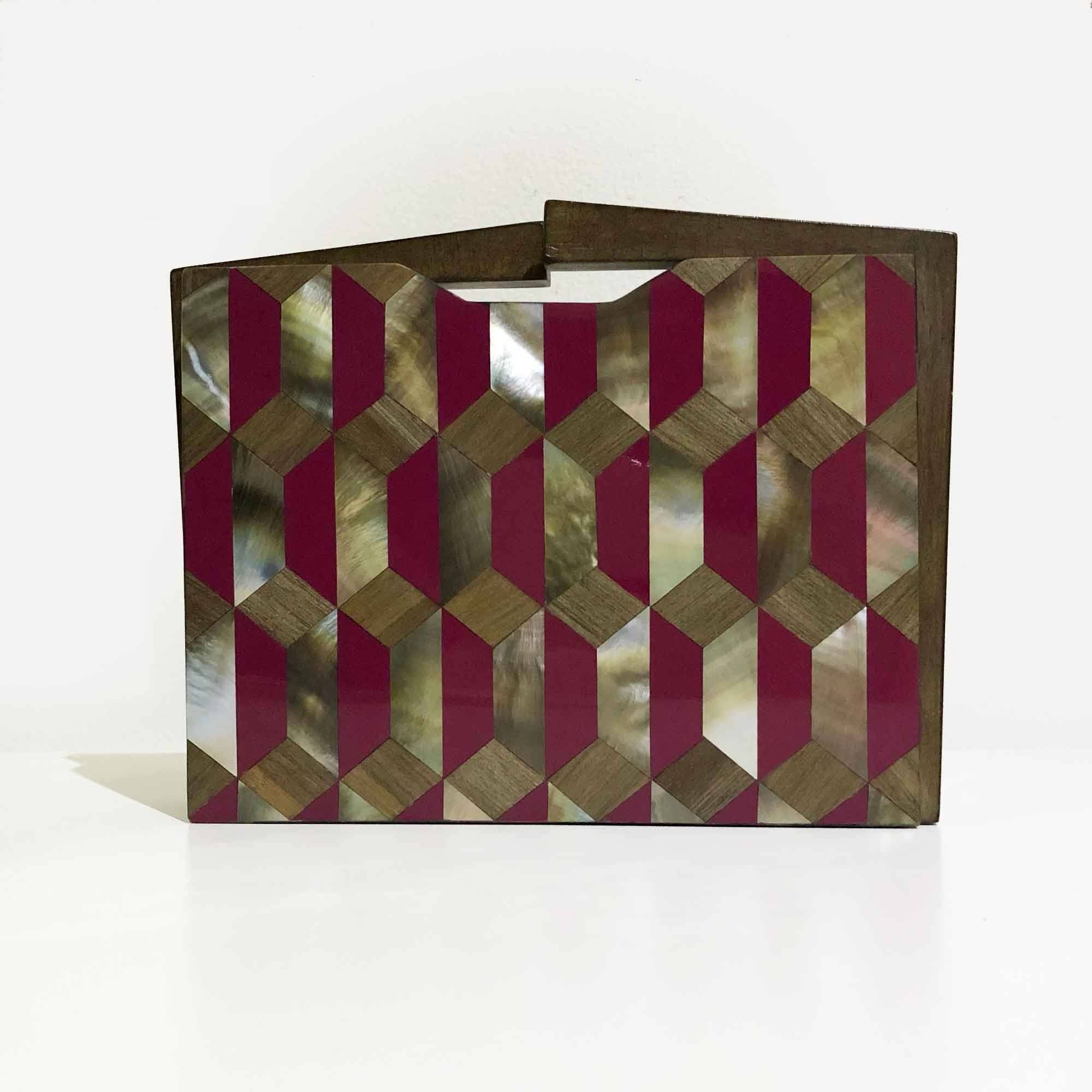Nathalie Trad Box Clutch