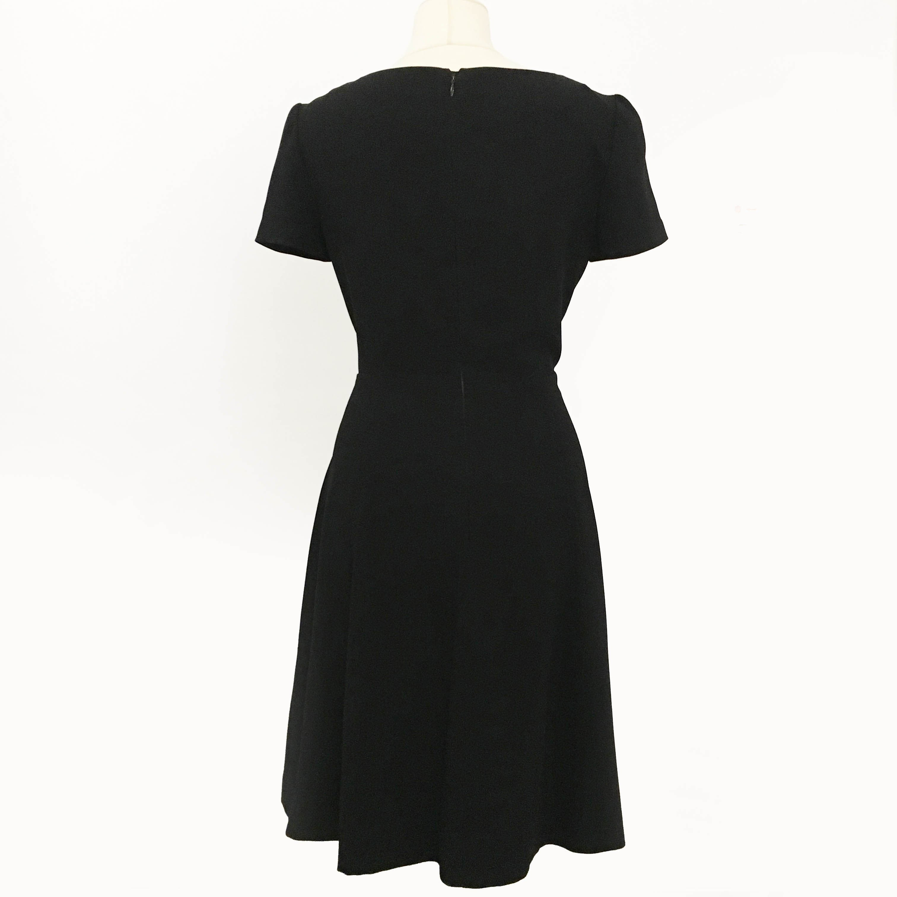 Prada Black Short Sleeve Dress