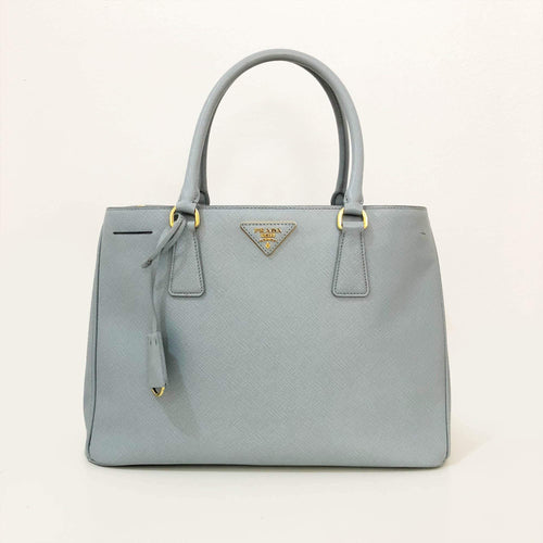 b211911b4794 czech prada saffiano light blue bag e4653 4d64f