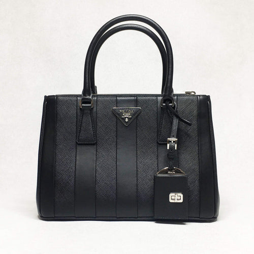 1860ba89013b Prada Saffiano City C Black Bag