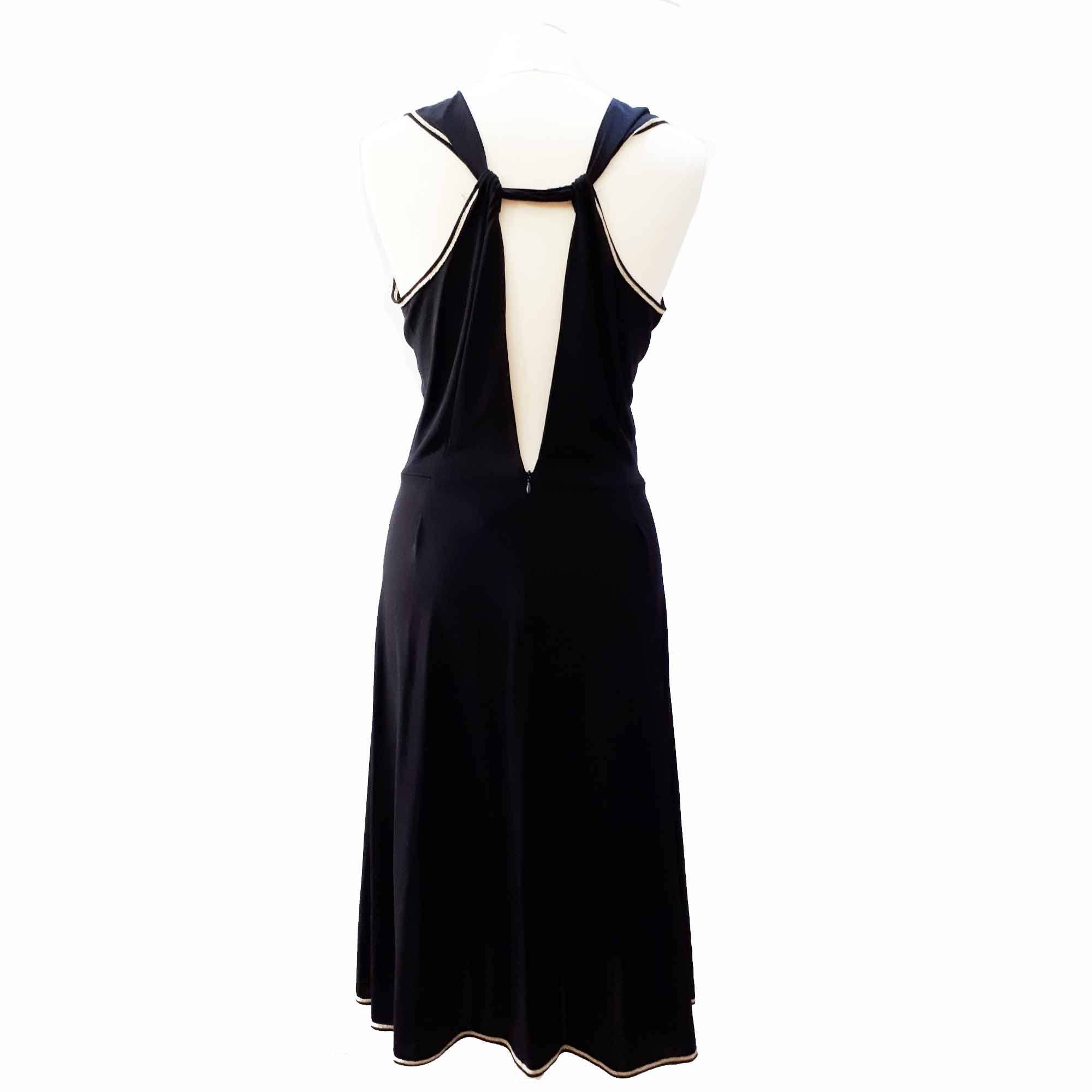 Saint Laurent Sleeveless Black Dress
