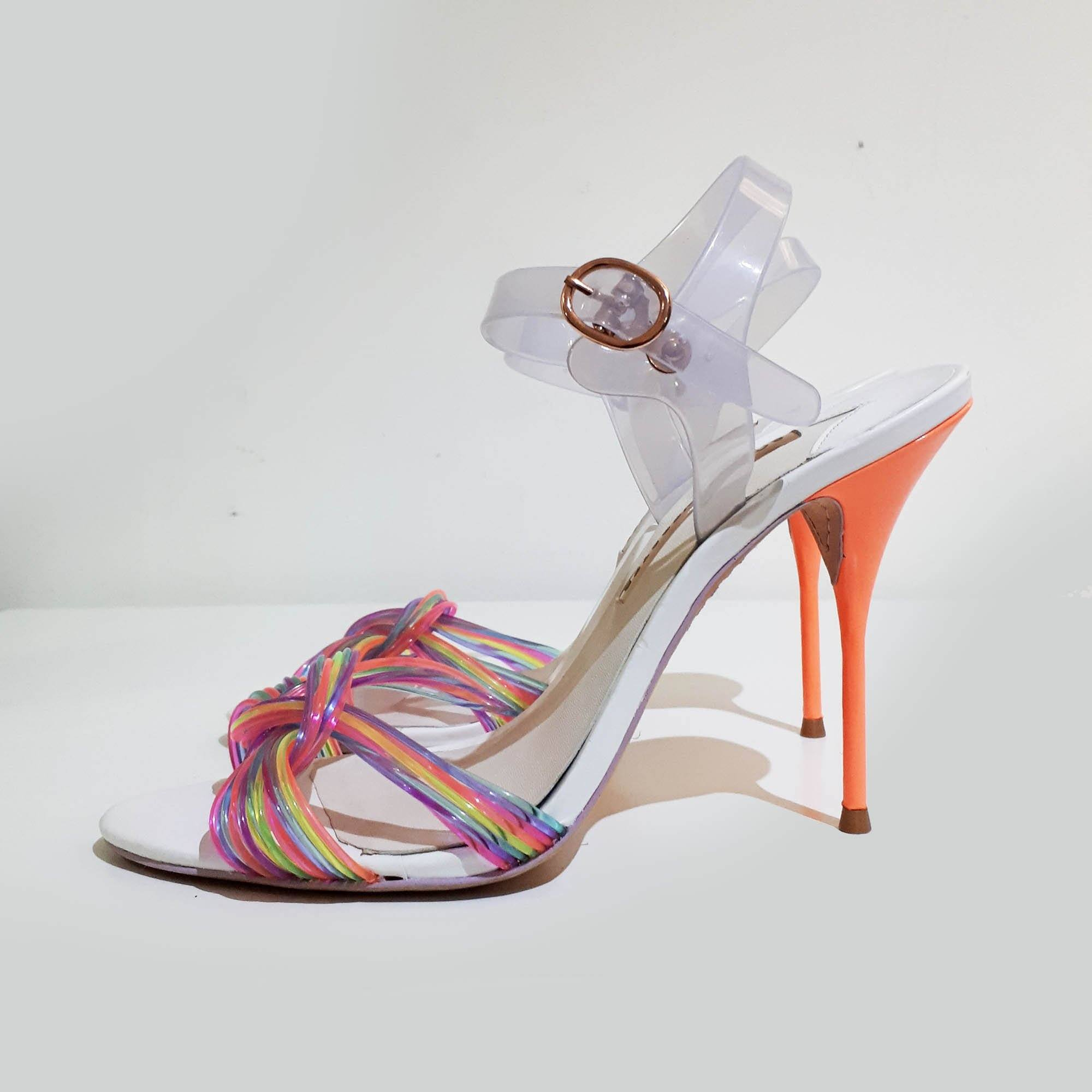 Sophia Webster Multicolor Knot Detail Sandal Heels