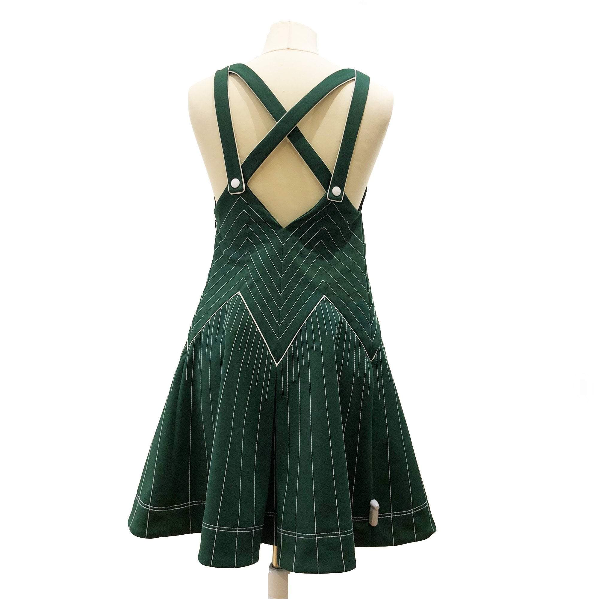 Valentino VLTN hammered satin dress