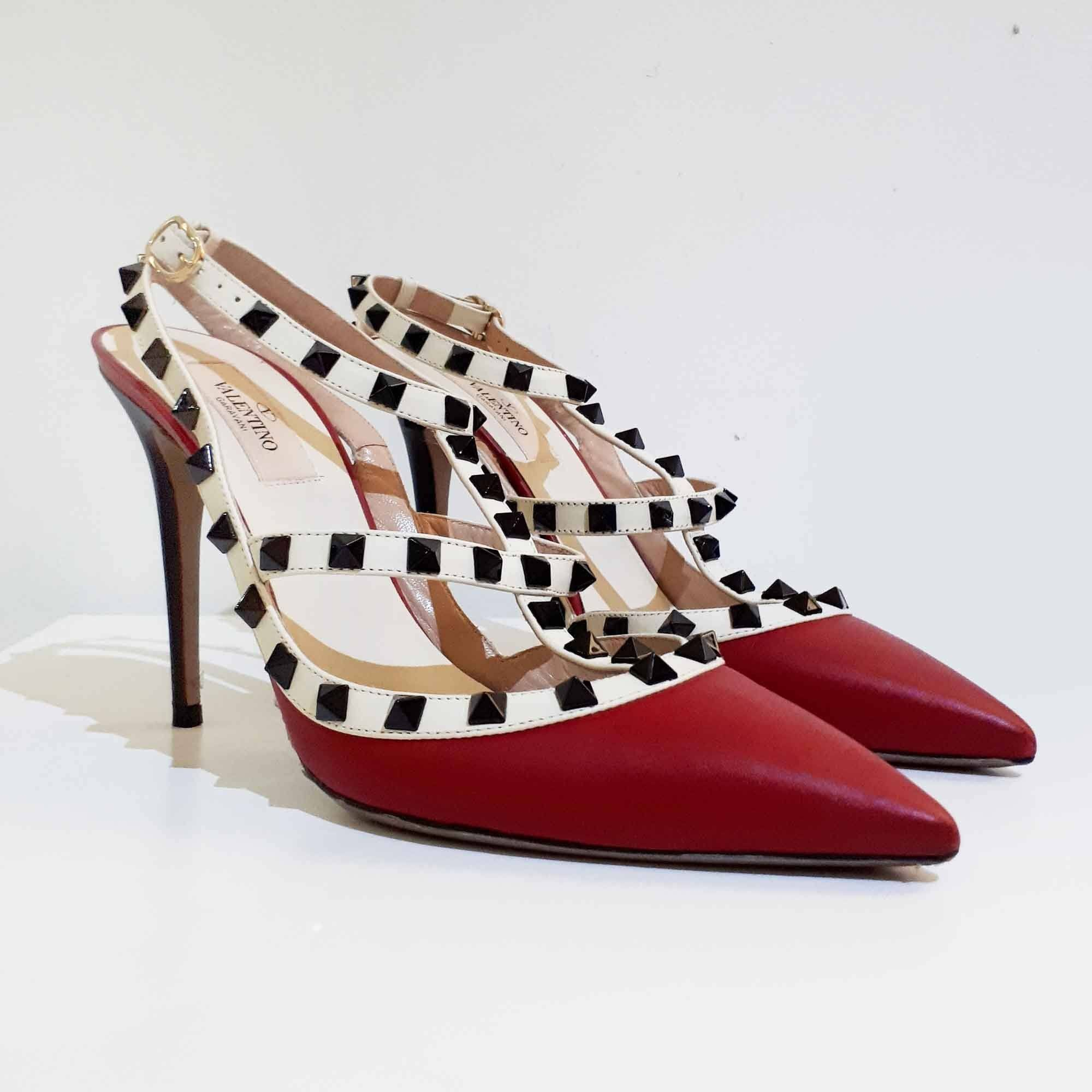 Valentino Red Rockstud Pumps