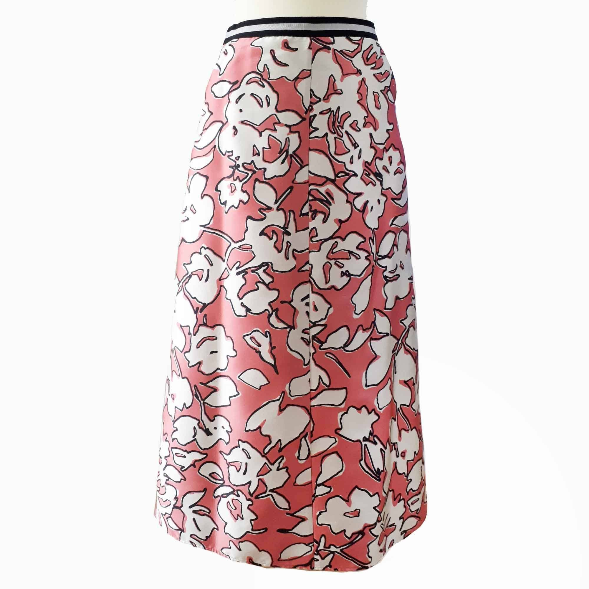 Weekend Maxmara Print Skirt