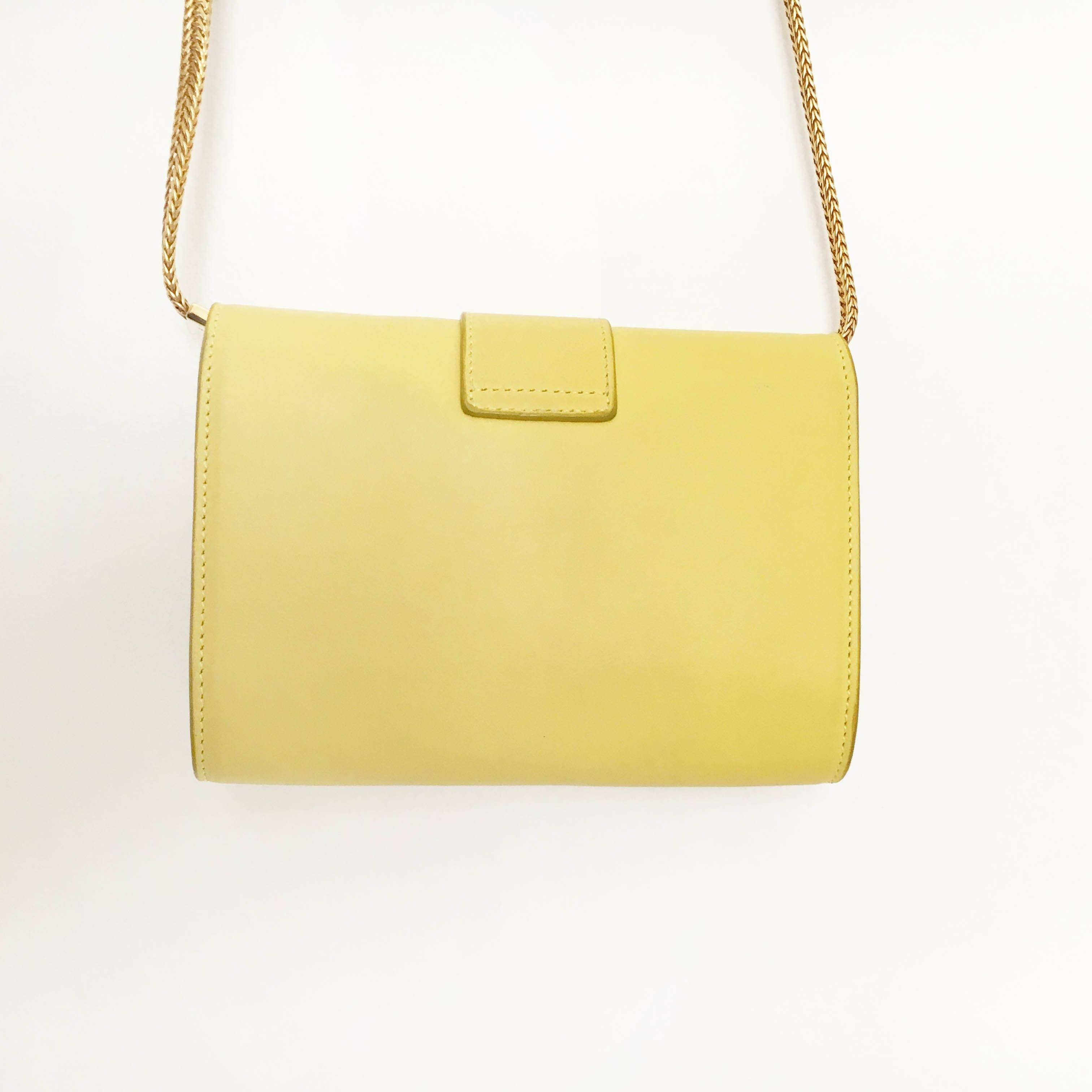 Saint Laurent CrossBody Yellow Bag