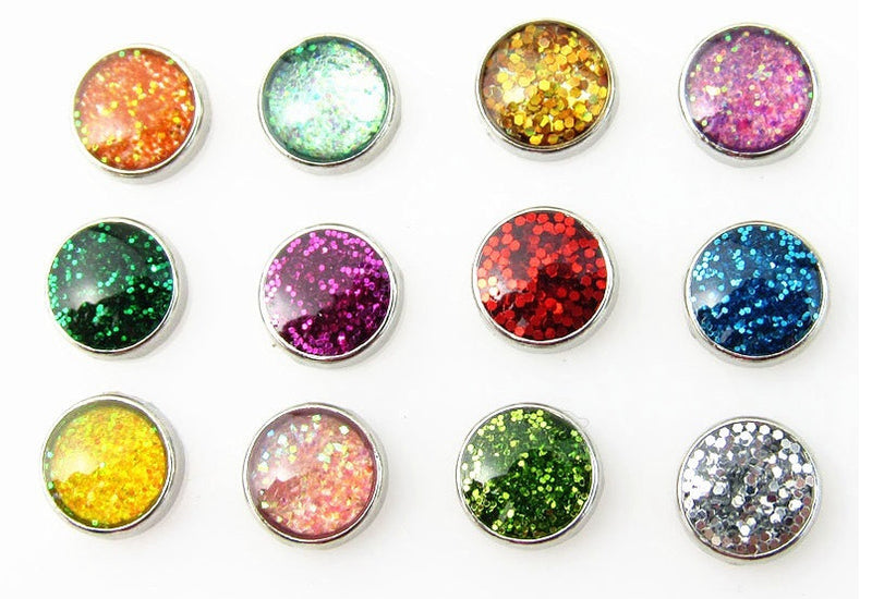 Glitter Floating Charms