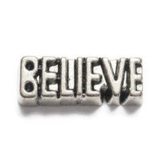 Believe Floating Charm