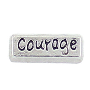 Courage Floating Charm