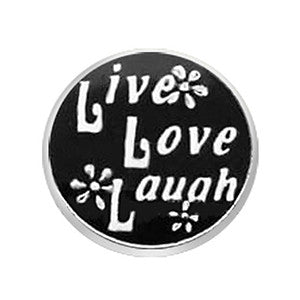 Live Love Laugh Floating Charm
