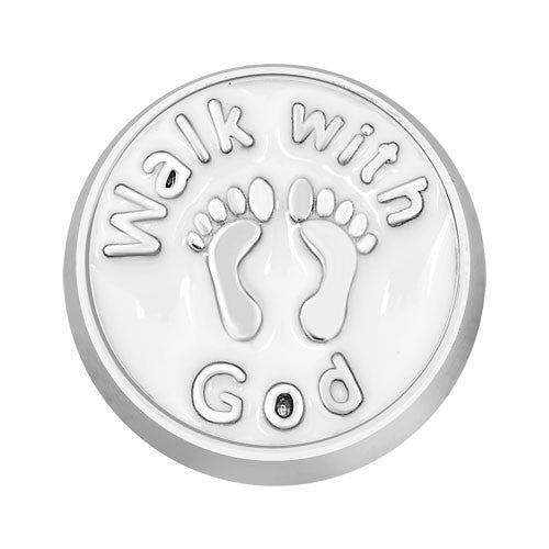 Walk with God Floating Charm