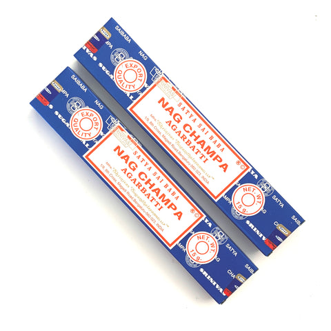 Satya NAG CHAMPA 15g Incense Sticks
