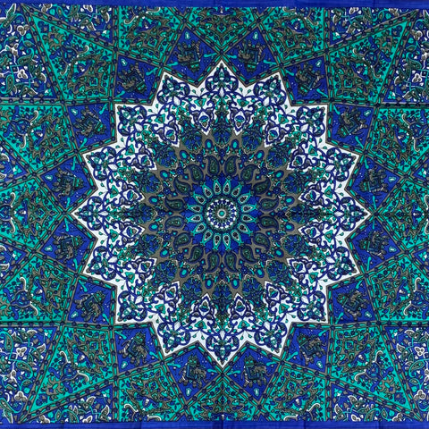 Cotton Mandala Tapestry - Small