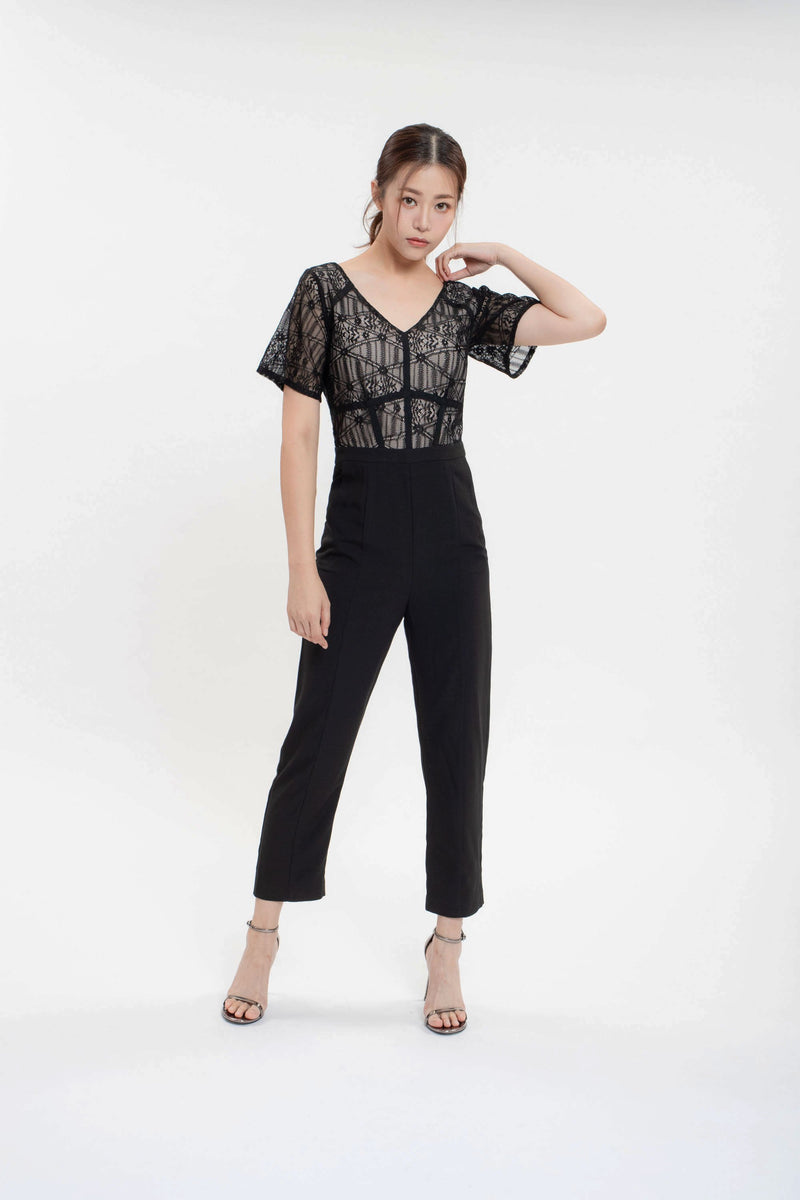 New York Lace Jumpsuit