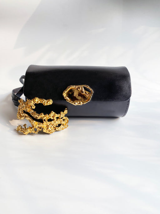 The Rockpool Clutch with a Coral Epaulette - Limited Edition