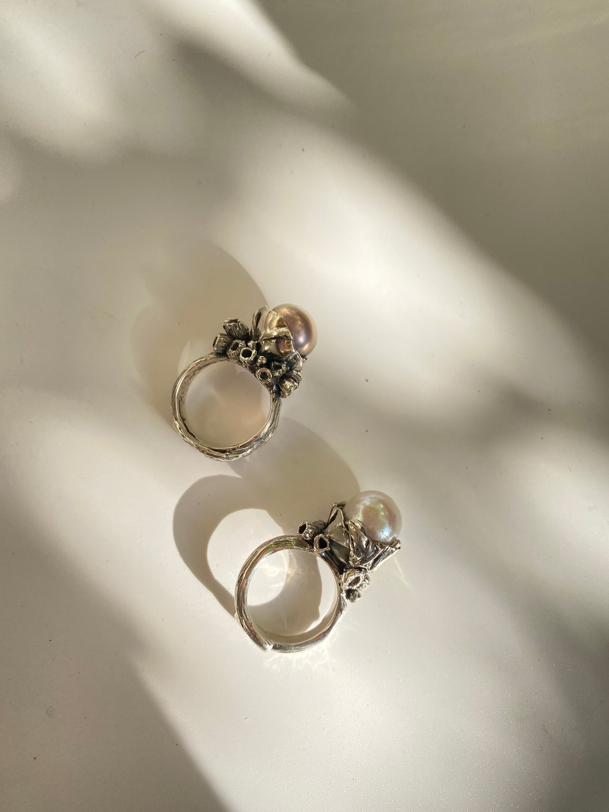 The Encrusted Pearl Ring