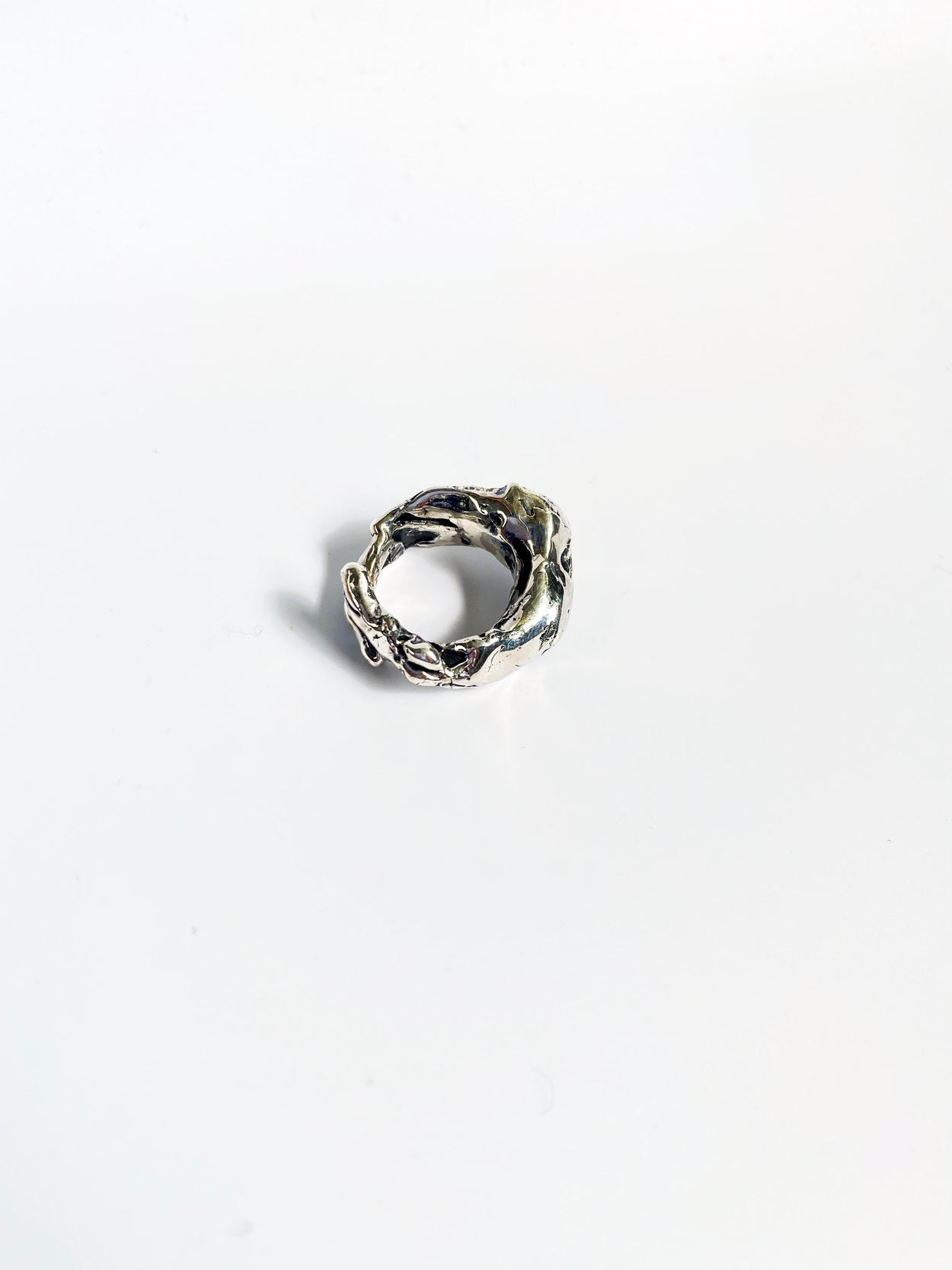 Studio Metallurgy silver ring