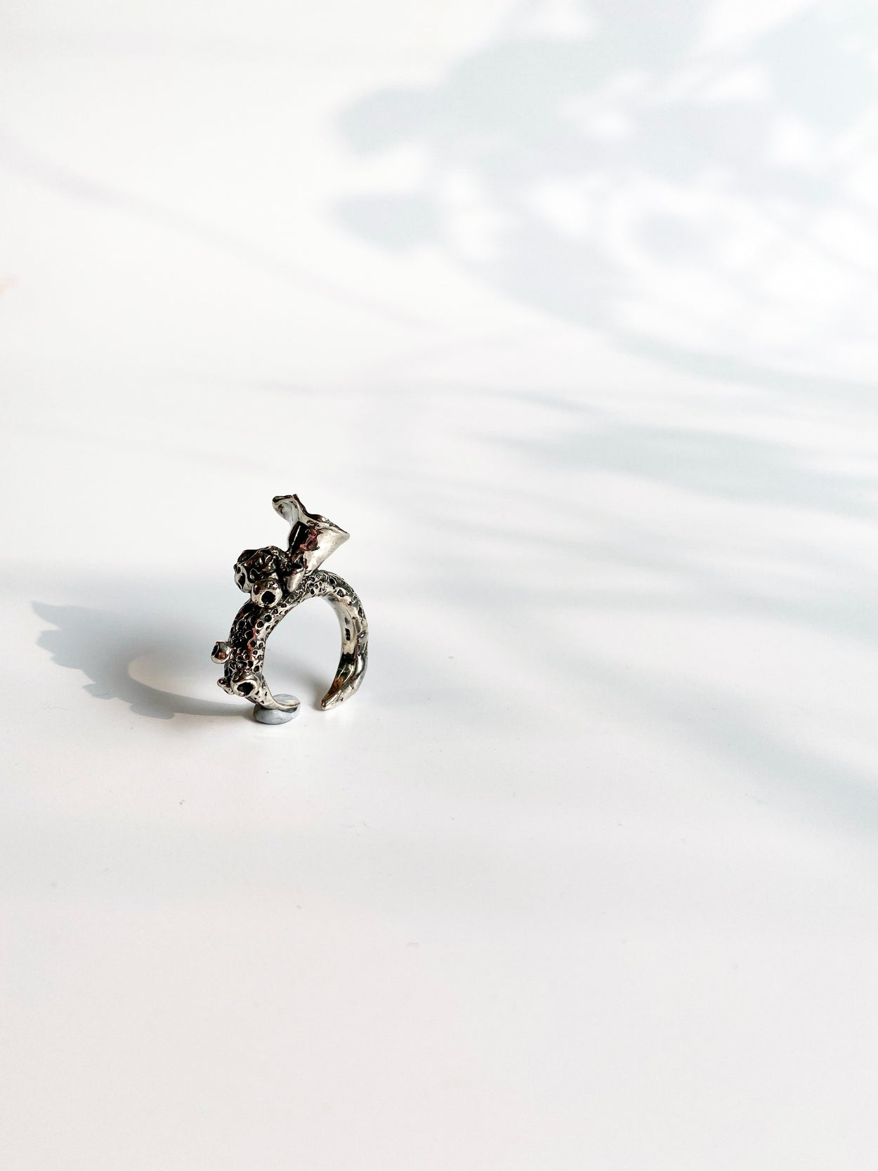 The Silver Coral Talisman Ring // 03