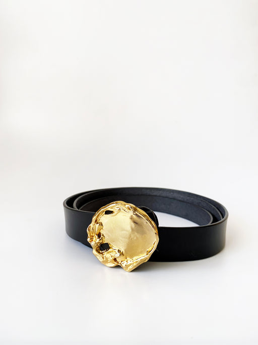 Studio Metallurgy Rock Pool Leather Belt