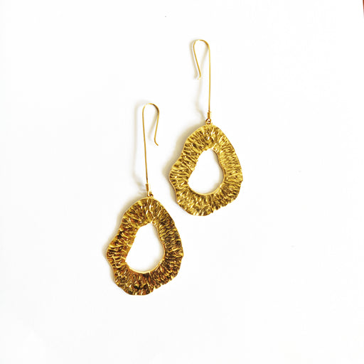 Kinoko Shroom Loop Earrings