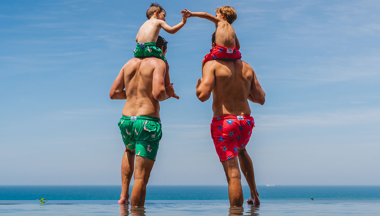 Father and Sons Swim Shorts