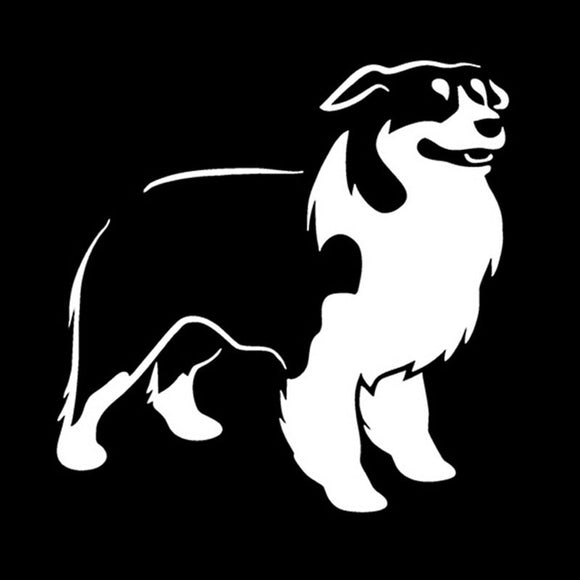 12.5*12.5CM Australian SHEPHERD Car Sticker Decal Dog Pet Animals Car Stickers And Decals CT-814