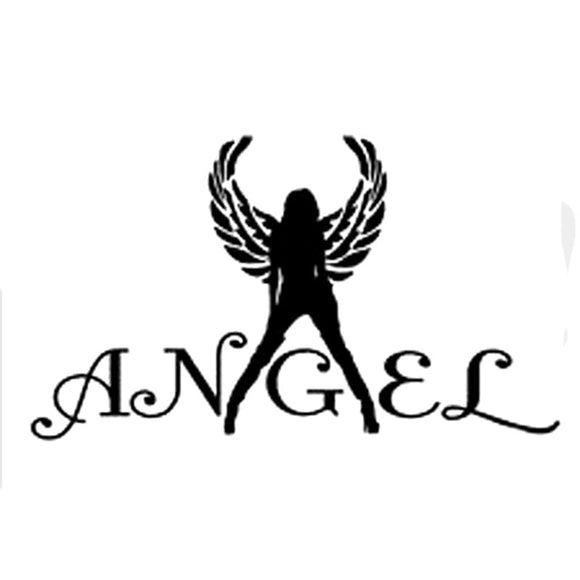 14.7CM*8.5CM Sexy Angel Decal Girl Wings Car Truck Window Mirror Vinyl Wall Sticker Car Styling Car Stickers C8-0102