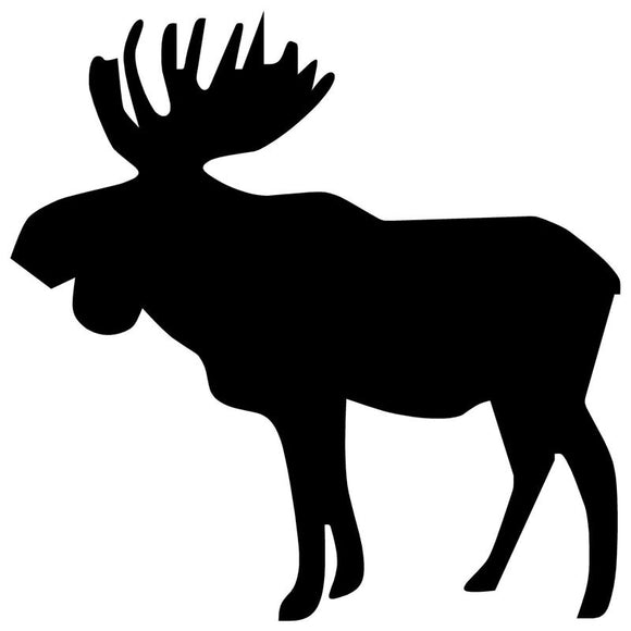 15*15CM Moose Car Sticker Personality Funny Motorcycle Styling Accessories Stickers C2-0423