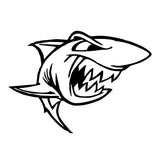 15.3*11CM Angry Fish The Shark Animal Stickers Vinyl Creative Personality Car Styling Decoration Accessories S1-0069